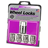 McGard 24157 Chrome Cone Seat Wheel Locks (M12 x 1.5 Thread Size) - Set of 4