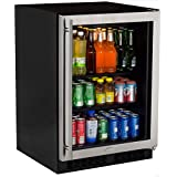 Marvel ML24BCG0RS Beverage Center, Glass Door, Right Hinge, 24-Inch, Stainless Steel