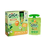 GoGo squeeZ Applesauce on the Go, Apple Mango, 3.2 Ounce Portable BPA-Free Pouches, Gluten-Free, 4 Total Pouches