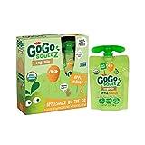 GoGo squeeZ Applesauce on the Go, Apple Mango, 3.2 Ounce Portable BPA-Free Pouches, Gluten-Free, 4 Total Pouches