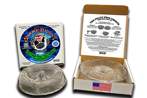 Forget the tube smokers THE NEW SMOKE RING - Circum = 25''or 16.5'' smoker 100% USA made by Smoke Daddy Inc.
