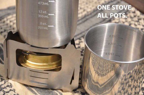 Bushbox Ultralight Outdoor Pocket Stove