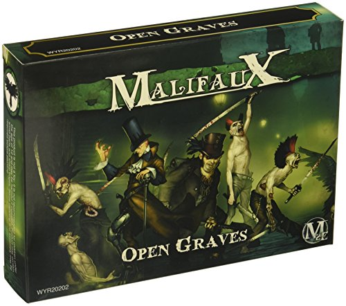 Wyrd Miniatures Malifaux Resurrectionists Open Graves Crew Model ()