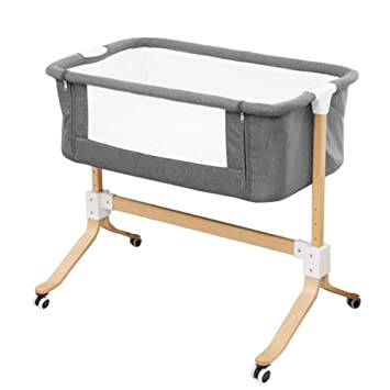 Amazon.com: WDXIN - Cama para cuna de bebé (madera maciza ...