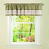 Lush Decor Ashlyn Valance With Lining For Sale