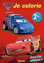 CARS 2 JE COLORIE (FLASH ET RAOUL)