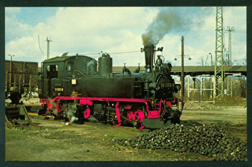 East Germany German State Railways DR99 1563 Meyer Mallet Tank Locomotive Railroad Train Postcard ()