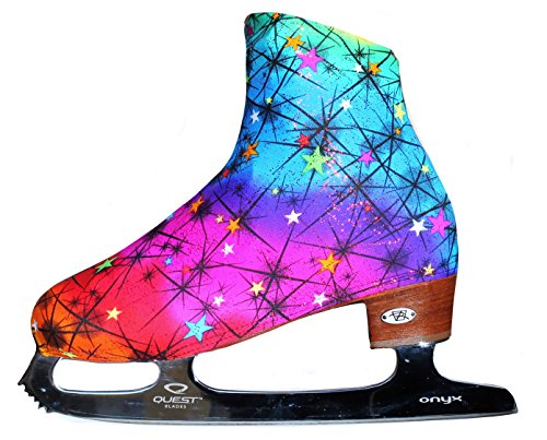 Ice Skate Boot Covers (Rainbow) (Roller Covers Boot Skate)