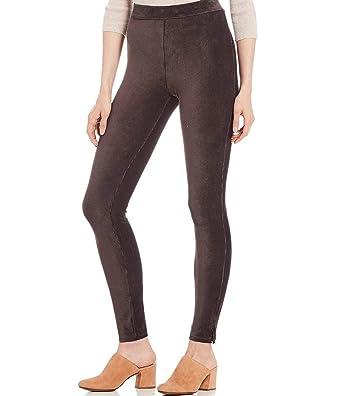 81c012bbb7cf1b HUE Women's High Waist Corduroy Leggings at Amazon Women's Clothing store: