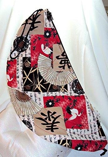 (Handmade Fabric Clutch Purse - Good Luck Fortune)