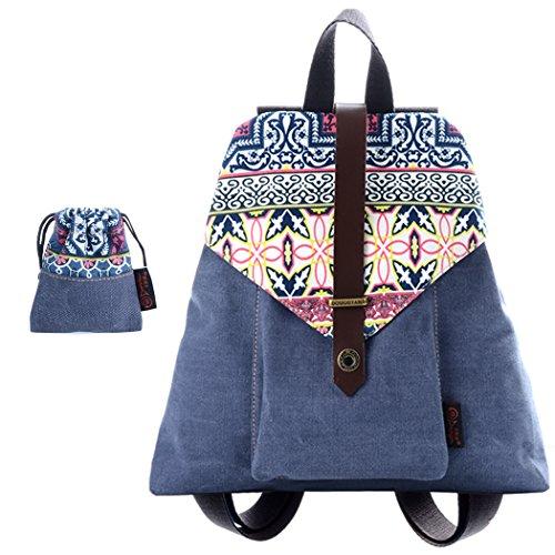 honeyjoy-womens-girls-outdoor-sport-basic-travel-canvas-hike-student-school-bag-backpack-3359315-blu