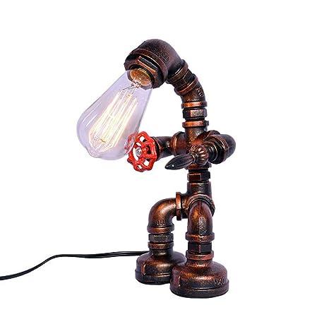 Lampada da tavolo QUANFANG Lámpara Industrial Creativa Viento ...