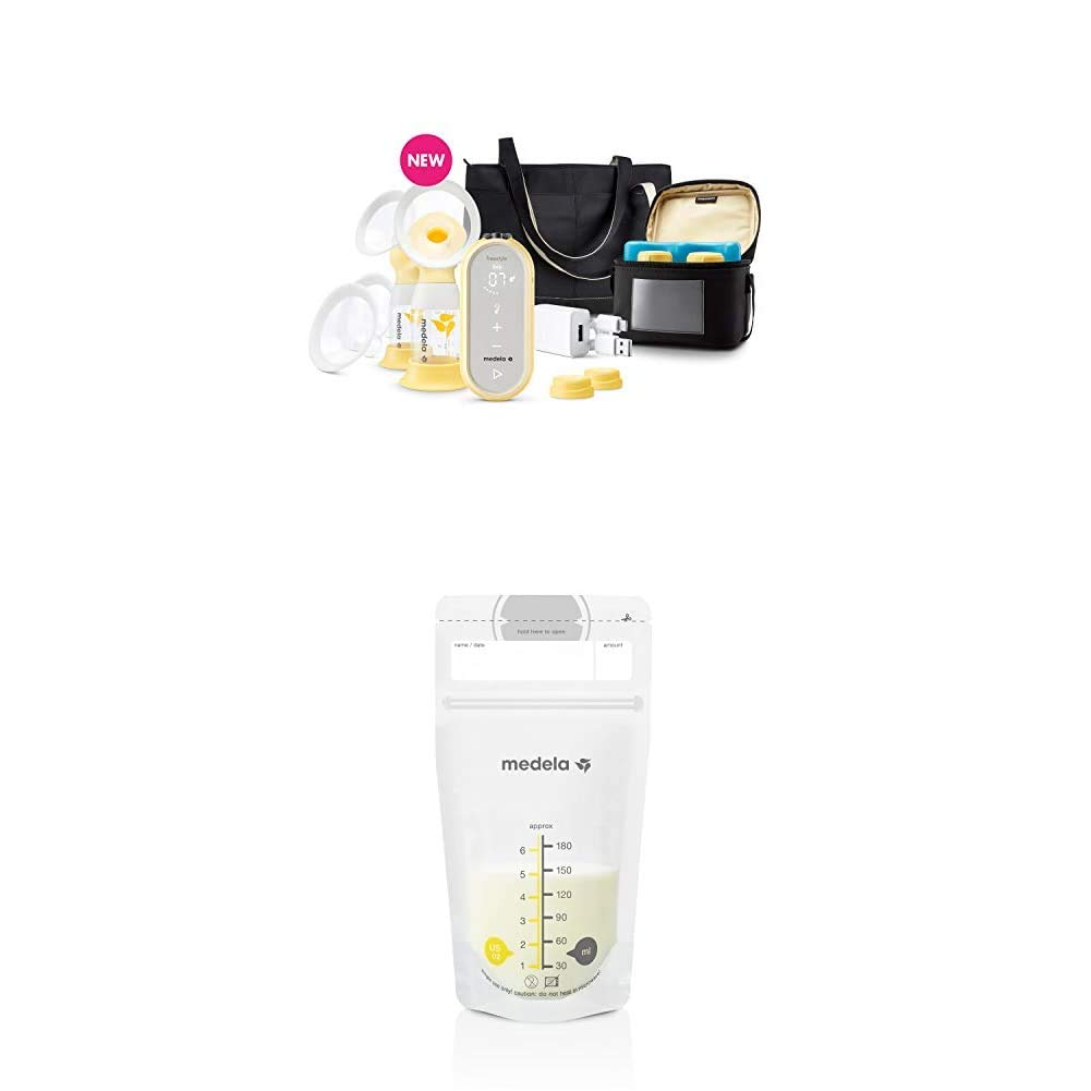Amazon Com Medela Freestyle Flex Breast Pump And 100 Count