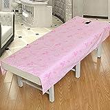 LWZY Linens Massage table sheet,waterproof sheets,spa linens,set of 2,beauty salon waterproof and oil-proof sheets/massage special sheets-A 80x190cm(31x75inch)