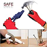 VIWIEU Plastic Pliers Nail Holder for Hammering, No