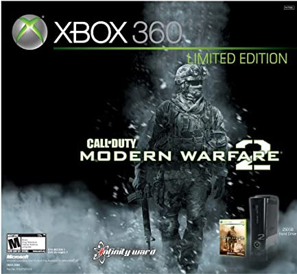 Amazon com: Xbox 360 Modern Warfare 2 Limited Edition