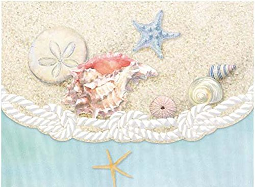 Carol Wilson Fine Arts Inc Sea Shells 10 Card Set Portfolio