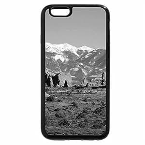 iPhone 6S Case, iPhone 6 Case (Black & White) - moab mountine
