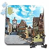 Danita Delimont - Germany - Germany Baden-Wurttemberg, Rothenberg, Street - EU10 JEN0305 - Jim Engelbrecht - 10x10 Inch Puzzle (pzl_137122_2)