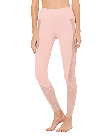 Amazon.com : Alo Yoga High-Waist Mosaic Legging - Womens ...