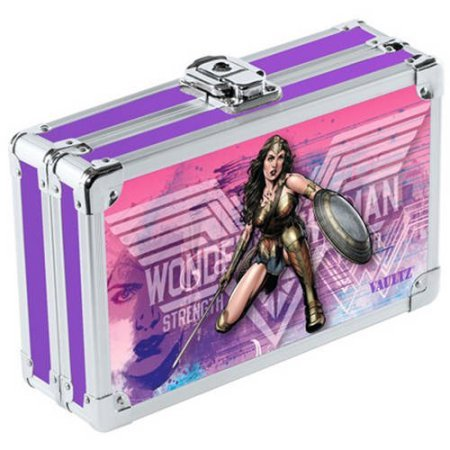 Vaultz Locking Pencil Box, Wonderwoman