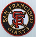 """San Francisco Giants Baseball MLB Round Embroidered Iron On Patch Hat Jersey 3"""""""