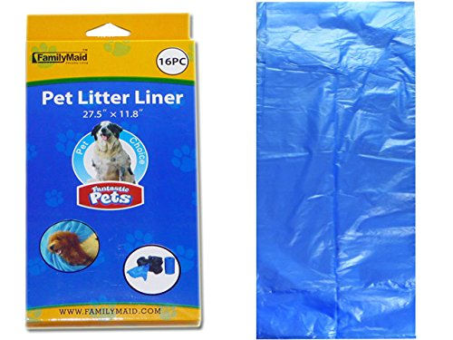 PET LITTER LINER SCENTED 16PCCB. 12X27.5'' , Case of 96