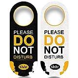4 Pack Do Not Disturb Door Hanger Sign