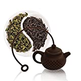 Funnytoday365 Creative Silicone Tea Bag Tea Pot Shape Tea Filter Safely Cleaning Infuser