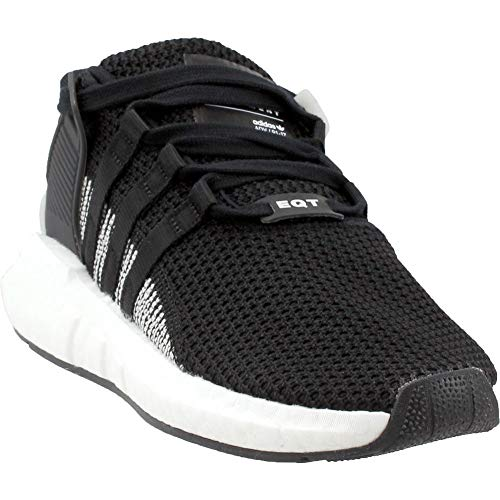 adidas Originals Men's EQT Support 93/17 Running Shoe, Black/White, 11 M US