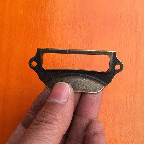 12pcs Antique Armoire Porte Cabinet Knob Etiquette Poign/ée avec Vis