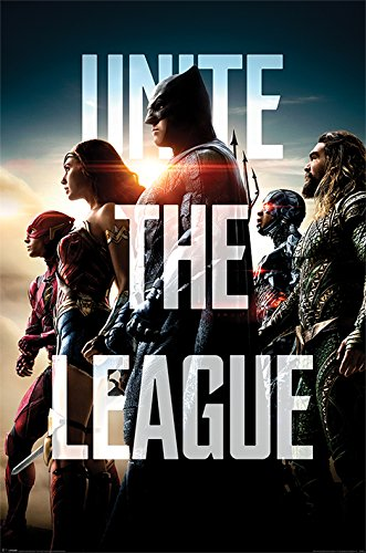 POSTER STOP ONLINE Justice League - Movie Poster/Print   (By
