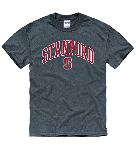 Stanford University T-shirt - Stanford Cardinal University Arch & Tree T- Shirt