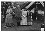 Photo: Mrs. C.F. Roe,General J.F. Bell & wife,Mrs. J.M. Lawton,dresses,Bain News,tent