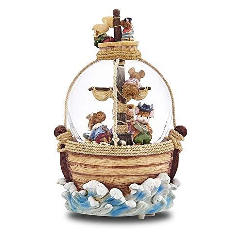 LittleBeauty Aventura Bola de Nieve Bola de Cristal Caja de m/úsica Decoraci/ón del hogar Novia Ni/ños Cumplea/ños Creativo