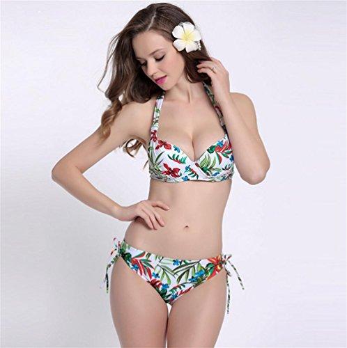 pengweiXL era delgado traje de baño traje de baño bikini Sra.