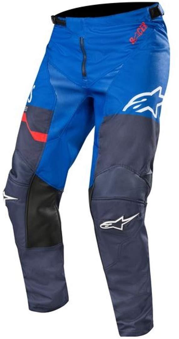 Hosen Alpinestars Racer Flagship Motocross Hose BlauRot 40