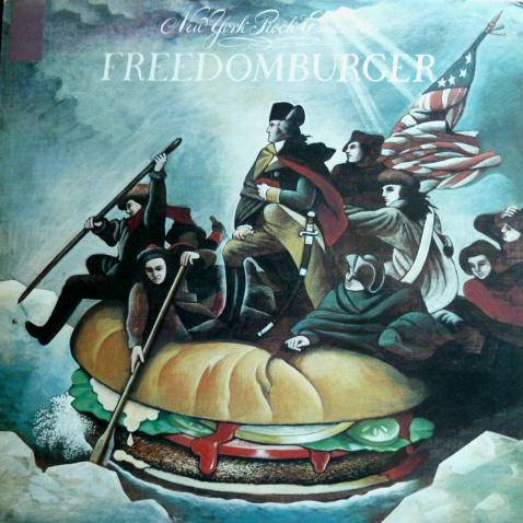 New York Rock Ensemble, The - Freedomburger - Embassy - EMB 31922, CBS - S 64907