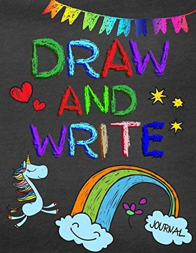 Draw And Write Journal: Writing Drawing Journal For Kids (All About Me Art Projects For Toddlers)