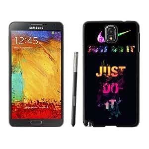 New DIY Custom Design Cover Case For Samsung Galaxy Note 3 N900A N900V N900P N900T Nike 6 Black Phone Case