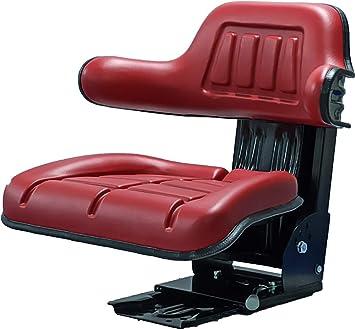 Klaraseats Schleppersitz Traktorsitz Ks 44 2v Pvc Rot Oldtimer Sitz Baby