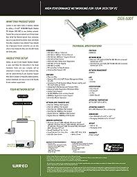D-Link DGE-530T 10/100/1000 Gigabit Desktop Adapter