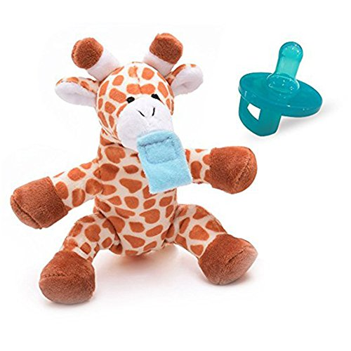 Infant Pacifier, Lovely Giraffe Pacifier Holder for Boys Girls