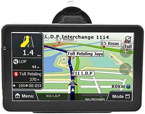 Topiky GPS para Coche, 718-8g 7 Pulgadas Navegador GPS para Coche Posicionamiento GPS BT4.0 Coche MP3 1G DDRIII Compatible con MP3, WMV y Otros formatos de Audio: Amazon.es: Electrónica