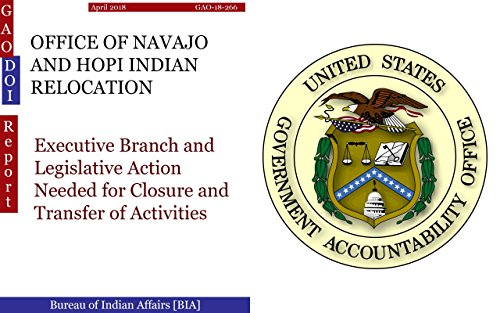 OFFICE OF NAVAJO AND HOPI INDIAN RELOCATION: Executive Branch and Legislative Action Needed for Closure and Transfer of Activities (GAO - DOI)