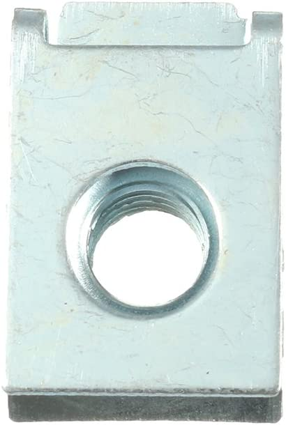 Alamor M8 8mm panneau de fil Spire C clips car/énage vitesse de fixation vis zinc chemin/ée U /écrou