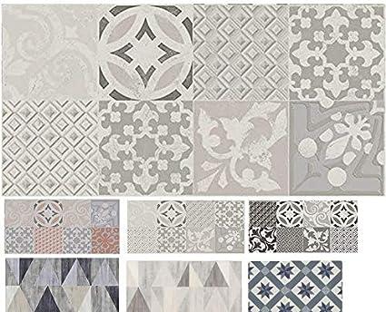 madeinnature tapis pvc carreaux ciment tapis en pvc differentes tailles vinyle ideal style suedois tapis de passage devant evier recouvrement de sol
