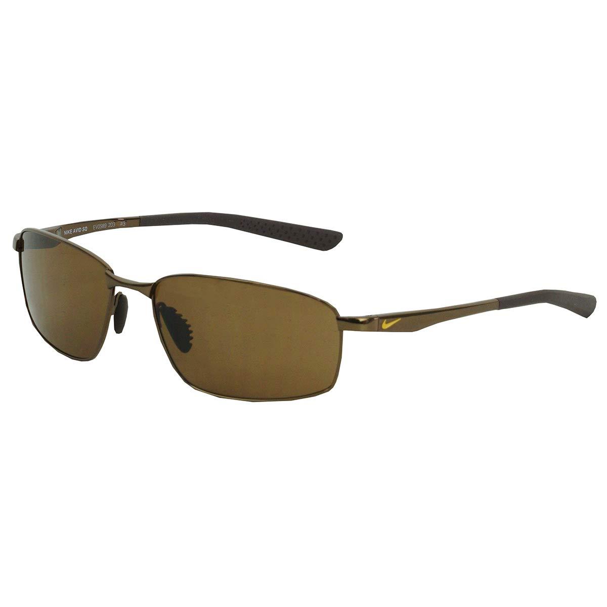 Nike Avid SQ Sunglasses (Walnut Frame, Brown Lens)