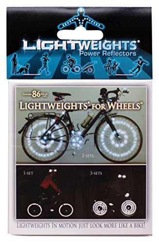 Lightweights for Wheels SilverFlex SuperBright Reflective 86 by Lightweights