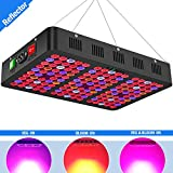 Best Grow Lights For Marijuanas - Mieemclux 1500W LED Grow Light with Reflector, Triple-Chips Review